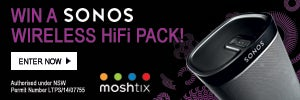 Win a Sonos Wireless HiFi pack