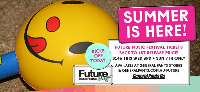 Grab Future Music Festival Tickets At 1st Release Price Until Sunday