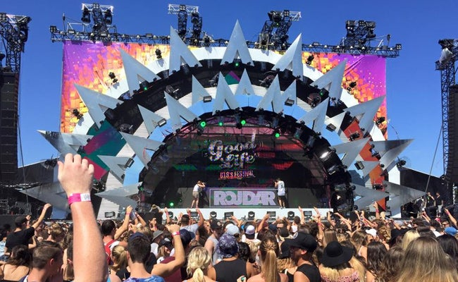 Mother Nature Takes Over Good Life Festival In Sydney