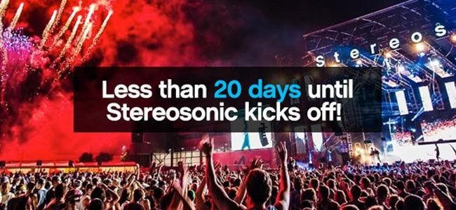 The Countdown Is On... 7 Videos To Get You PUMPED For Stereosonic!