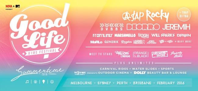 Good Life U18 Festival '16 Drops MASSIVE Lineup!