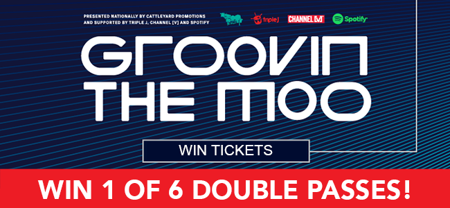 Get Your GROOVE On, Win 1 Of 6 Double Passes To Groovin The Moo!