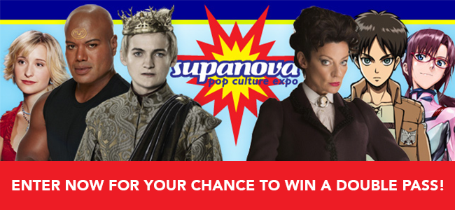 You Could WIN 1 Of 2 Double Passes To Supanova 2016!