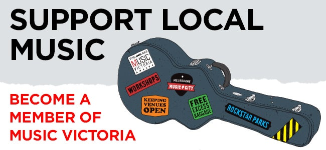 Support Local Music & Win Prizes - The Top 5 Reasons To Become A Member Of Music Victoria!