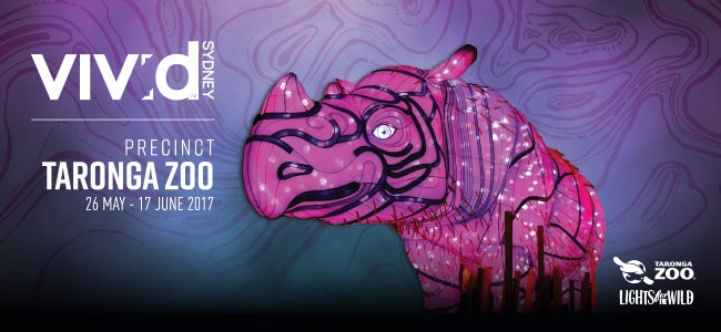 Vivid Returns To Taronga Zoo For Another Wild Year Of Giant Multimedia Light Sculptures!