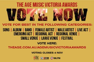 Vote now in the Age Music Victoria Awards!