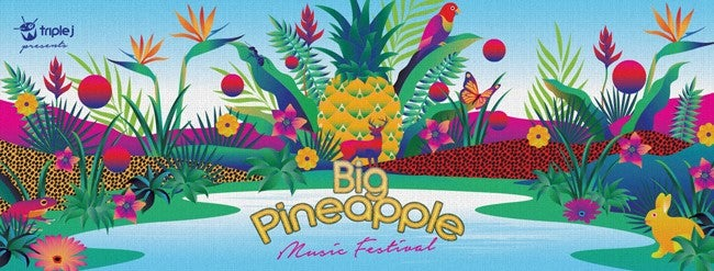 The Big Pineapple Music Festival Playing Times Have Landed!