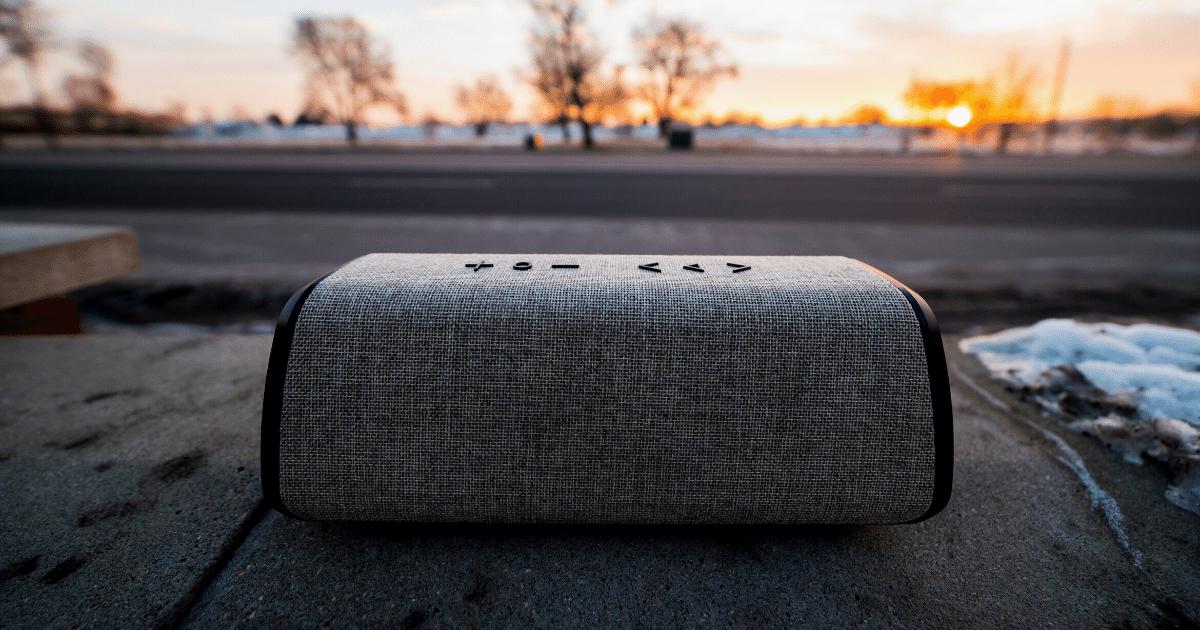Bluetooth speaker an essential camping item