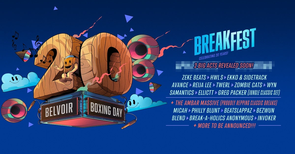 Breakfest Celebrates 20 Years With Zeke Beats, HWLS, Ekko & Sidetrack And More