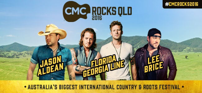See Jason Aldean, Florida Georgia Line & MORE at CMC Rocks QLD 2016!