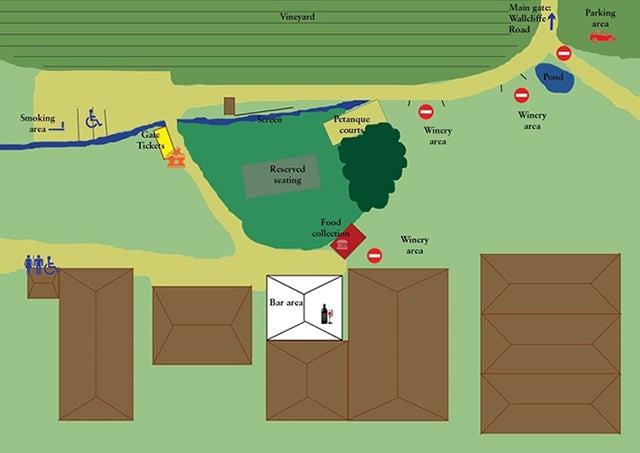 Cape Mentelle Map