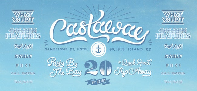 Find Yourself On An Island Paradise At CASTAWAY In Brisbane This Summer!
