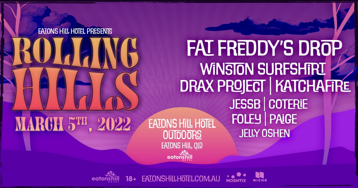 New Festival Rolling Hills Brings Fat Freddy's Drop, Katchafire And More To Queensland In March
