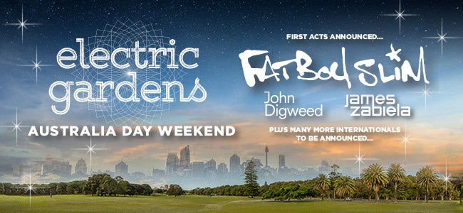 Electric Gardens Festival featuring Fatboy Slim is ON SALE NOW!