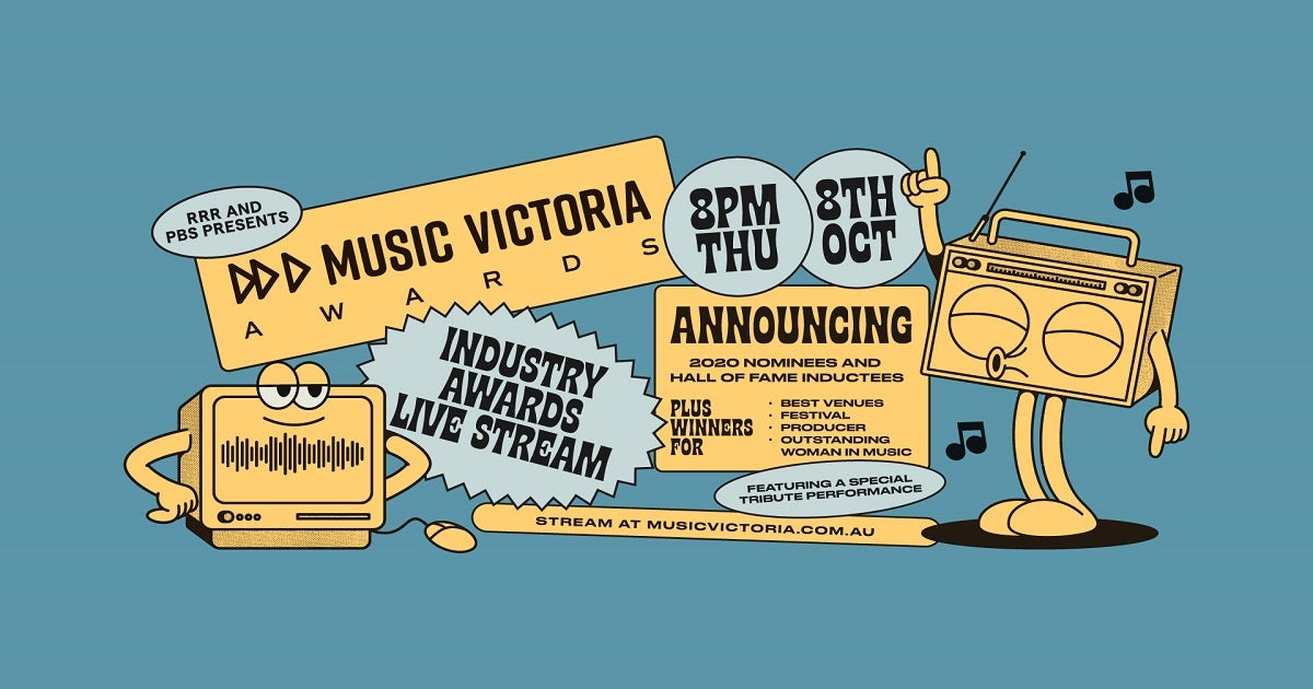 Music Victoria Announce First-Ever Online Event For Their 2020 Industry Awards
