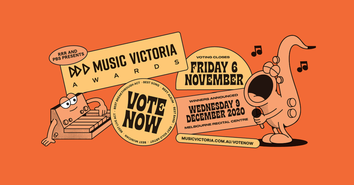 Voting For Music Victoria Awards 2020 Is Now Open
