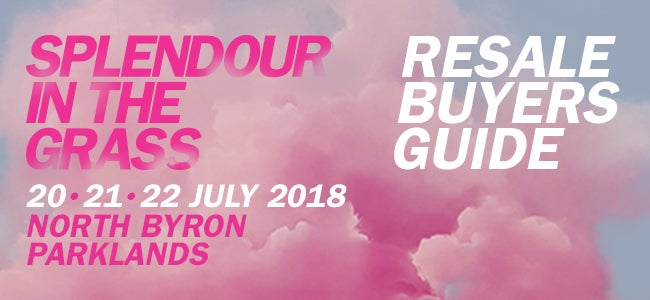 Splendour in the Grass Resale - Buyers Guide