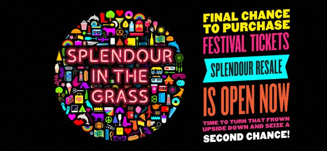 Here's Some Handy Info On Resale & Car Passes For Splendour In The Grass!