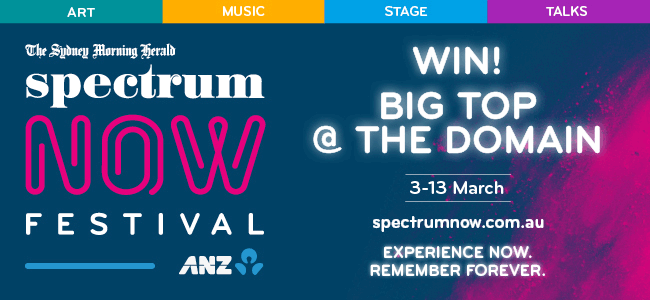 WIN A Double Pass To Your Choice Of Show At Spectrum Now Festival!