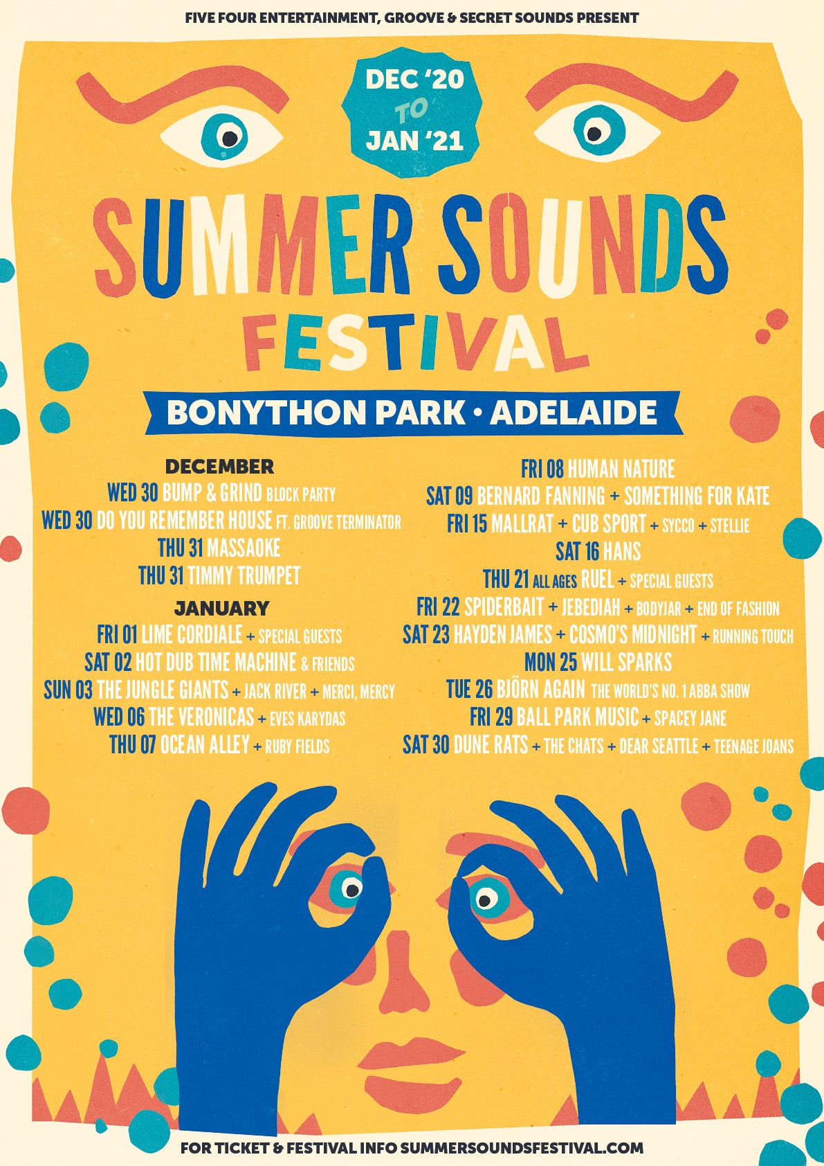Summer Sounds Festival Lineup 2021