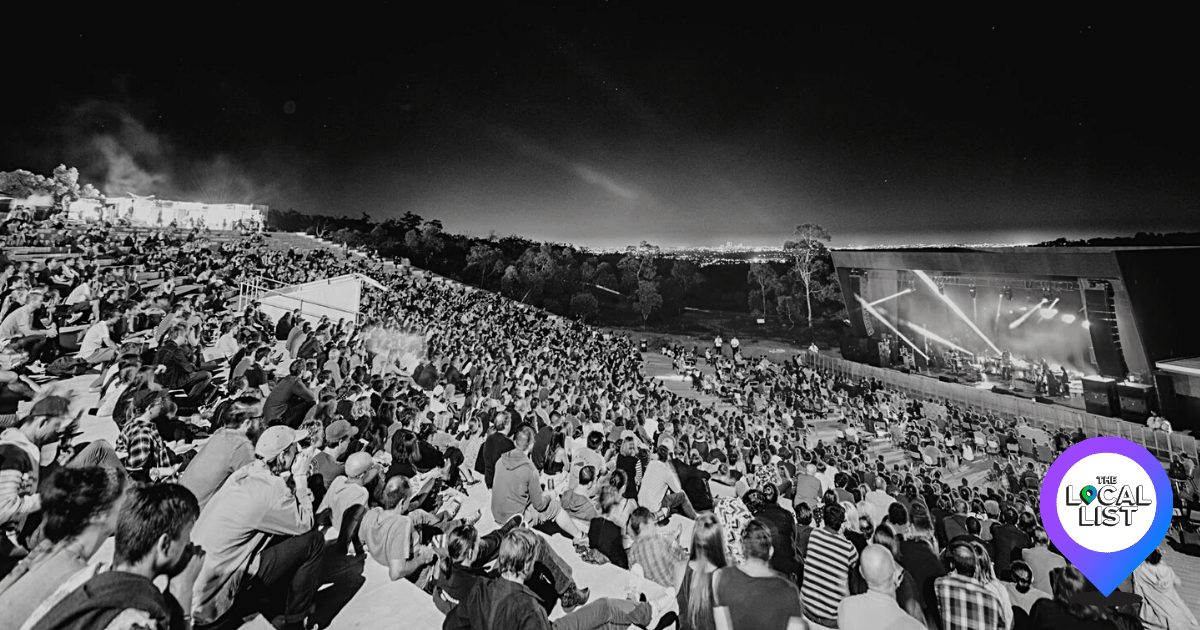 From Forest To Venue: An Inside Look Into Perth's Iconic Outdoor Concert Venue