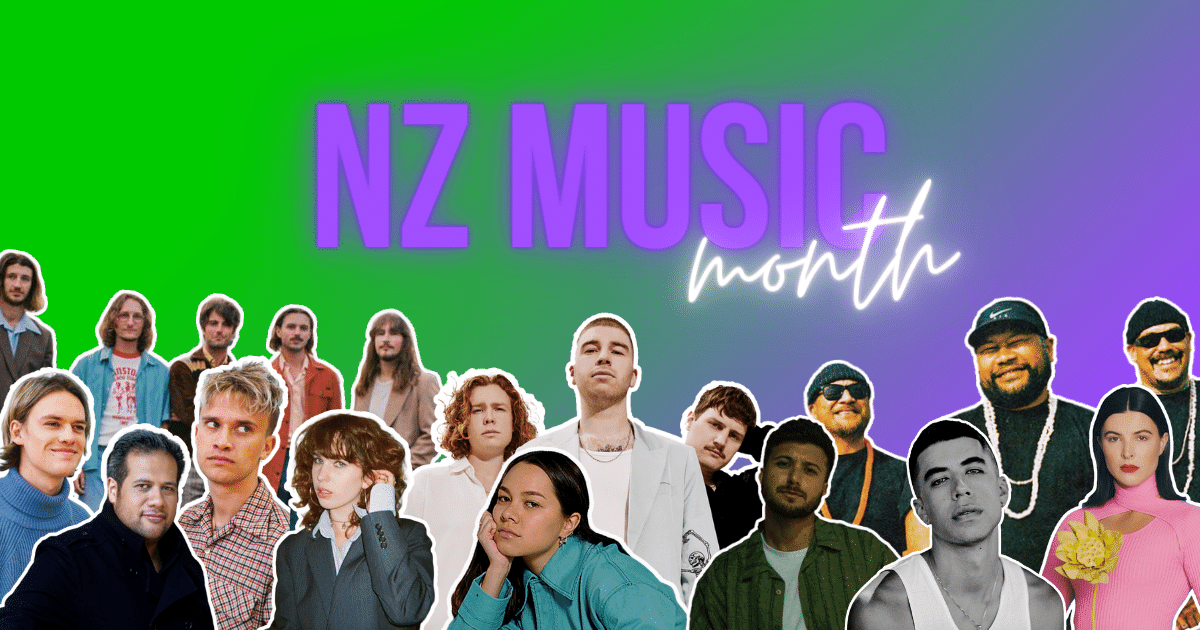 Here's What's Happening Across The Country For NZ Music Month