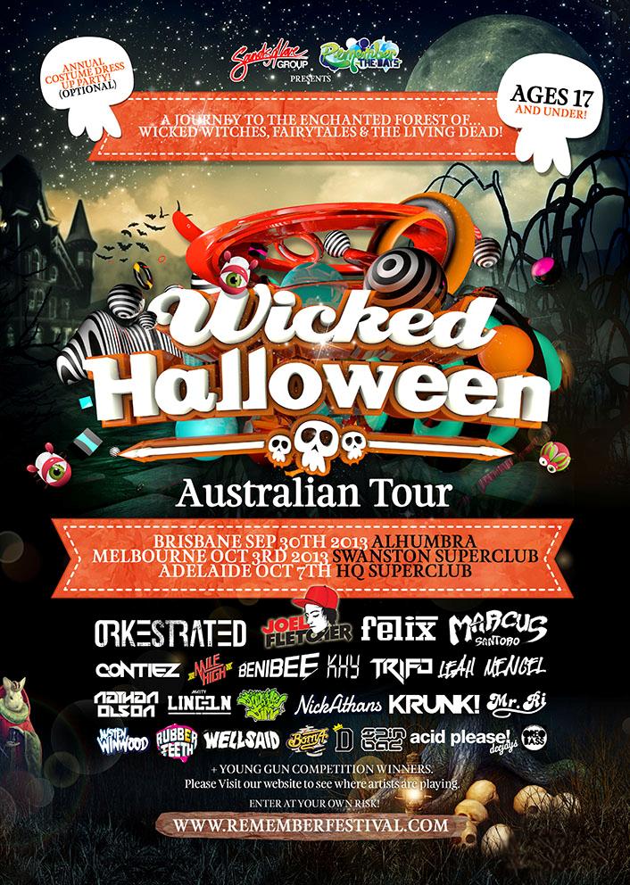 Wicked tour dates in Brisbane