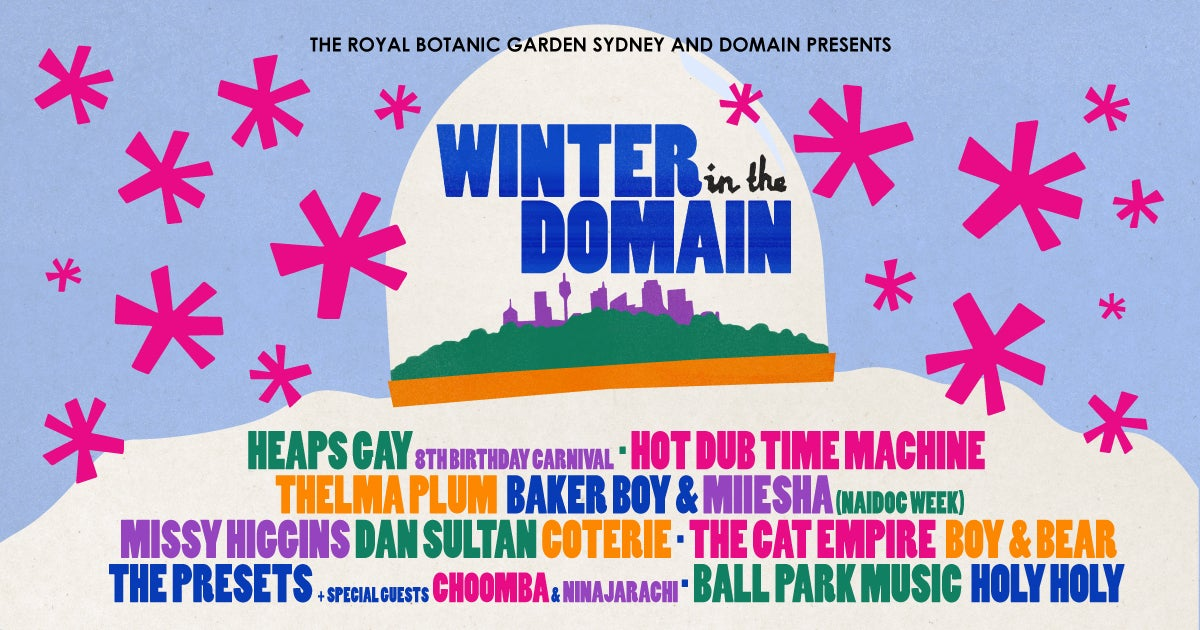 Warm Up With Some Fire Concerts At Sydney's New Festival 'Winter In The Domain'