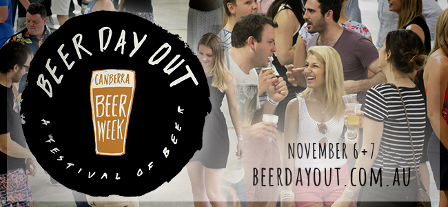 We've Found Paradise For Beer Lovers This Weekend In Canberra At Beer Day Out 2015!