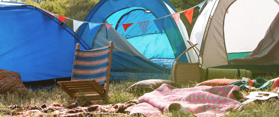 Campsite must haves at a festival