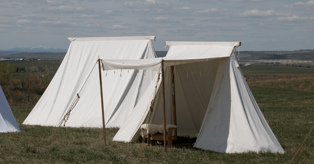 Canvas Tent for Festival camping