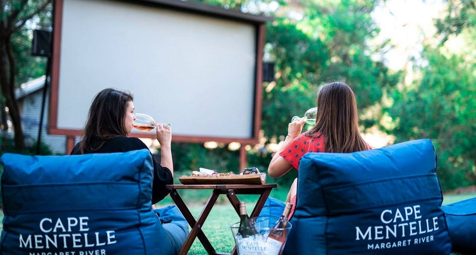 Cape Mentelle outdoor cinema