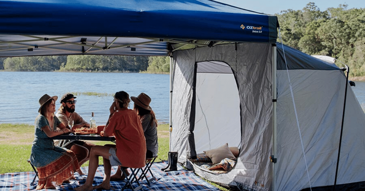 Portable Gazebo for Camping at Bluesfest