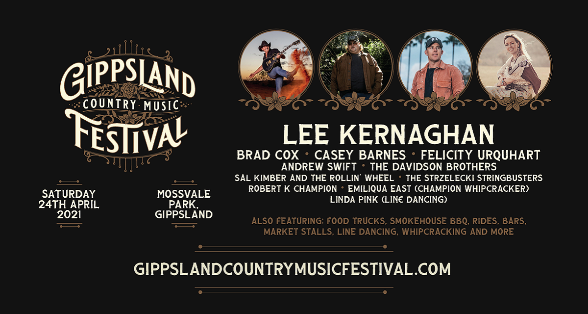 A Country Music Festival Is Coming To Gippsland In 2021