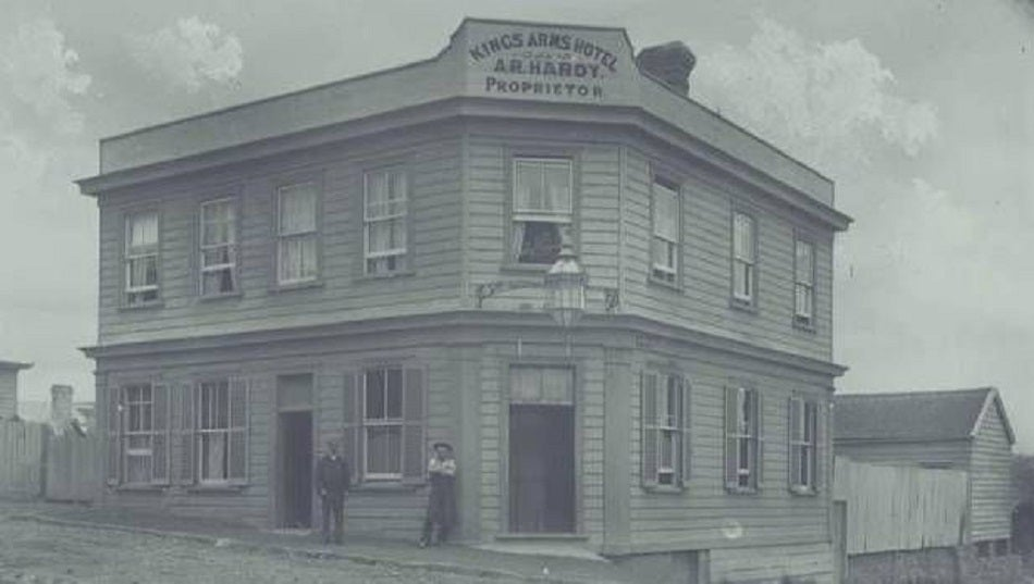 Kings Arms Auckland Historical Music Venues Tour