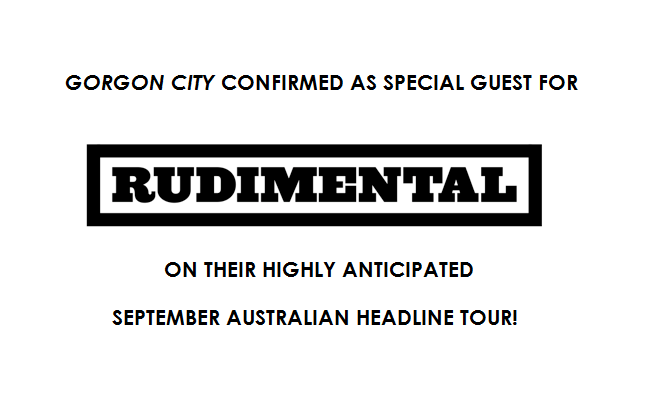 RUDIMENTAL ANNOUNCE SPECIAL GUESTS FOR SEPTEMBER TOUR!