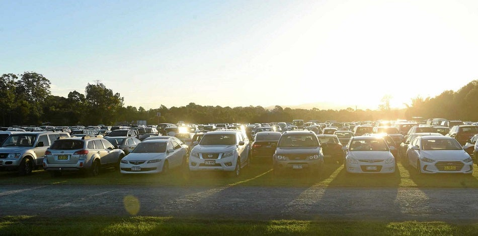 Parking at Bluesfest