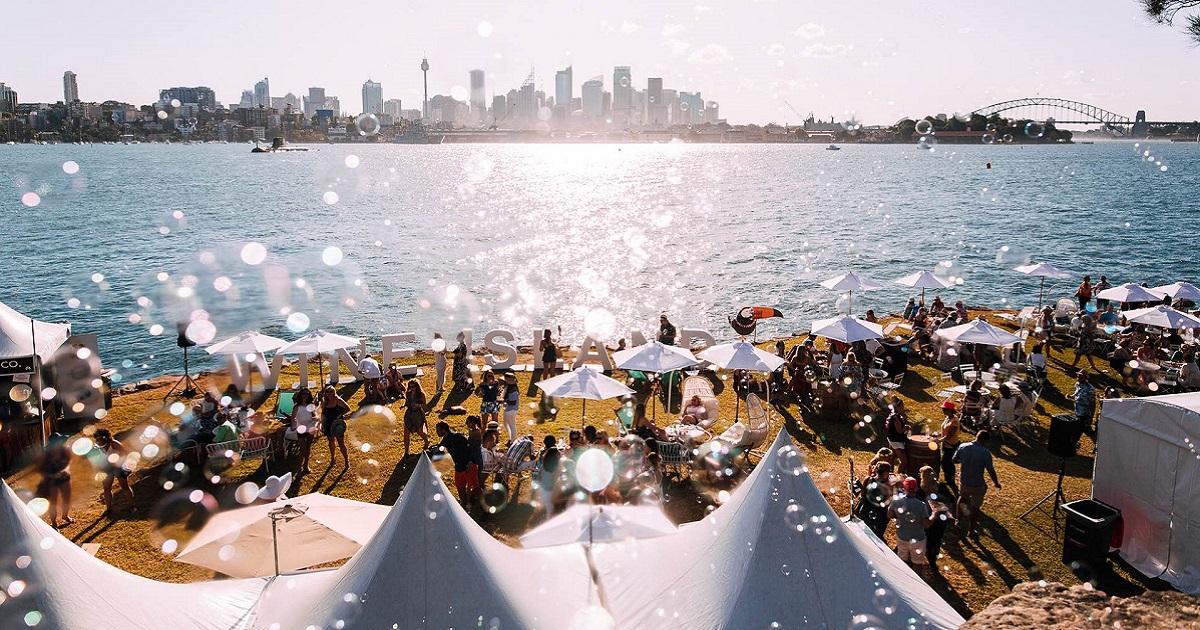 Wine Island Returns To Sydney Harbour In 2022
