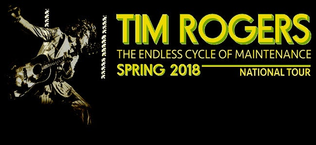 TIM ROGERS 'The Endless...