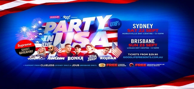 PARTY IN THE USA! (BRISBANE)