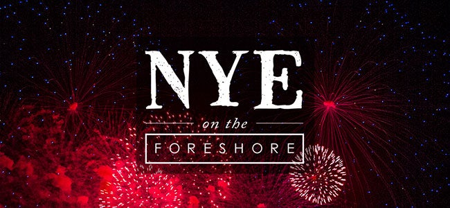 NYE on the Foreshore