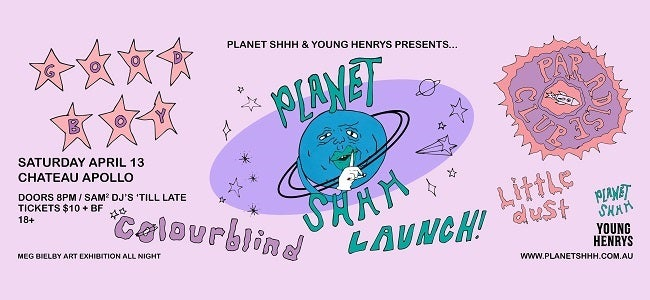 Planet Shhh Launch Party