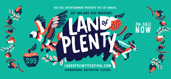 LAND OF PLENTY 2019