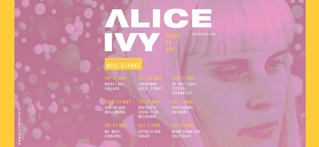 Alice Ivy - Close To...