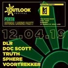 Outlook Festival Launch Perth with DLR // DOC SCOTT // TRUTH