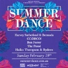 Summer Dance w/ Harvey Sutherland & Bermuda, CC:DISCO!, Ben Fester, The Possé, Haiku Thompson & Rydeen
