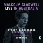 Malcolm Gladwell live in Australia The Future: Disrupted & Reimagined