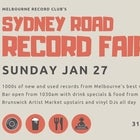 Sydney Road Record Fair