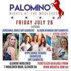 Palomino Nights At The Woolshed July