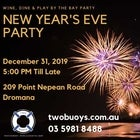 Wine, Dine & Play By The Bay New Year's Eve Party
